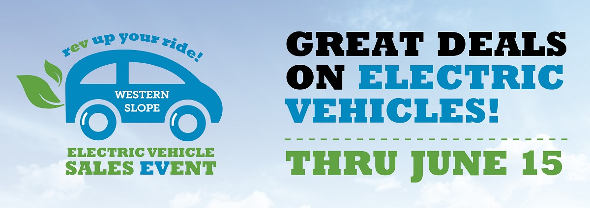 NOW IS THE TIME TO BUY AN ELECTRIC VEHICLE in the Electric Vehicle Sales EVent, now through Oct. 31